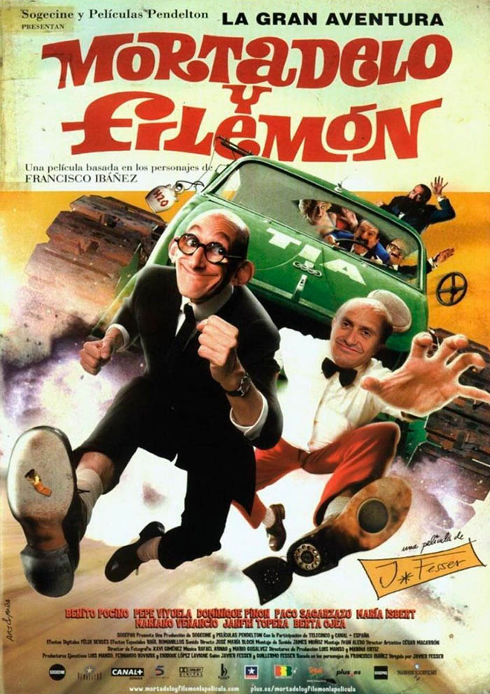 mortadelo y filemon